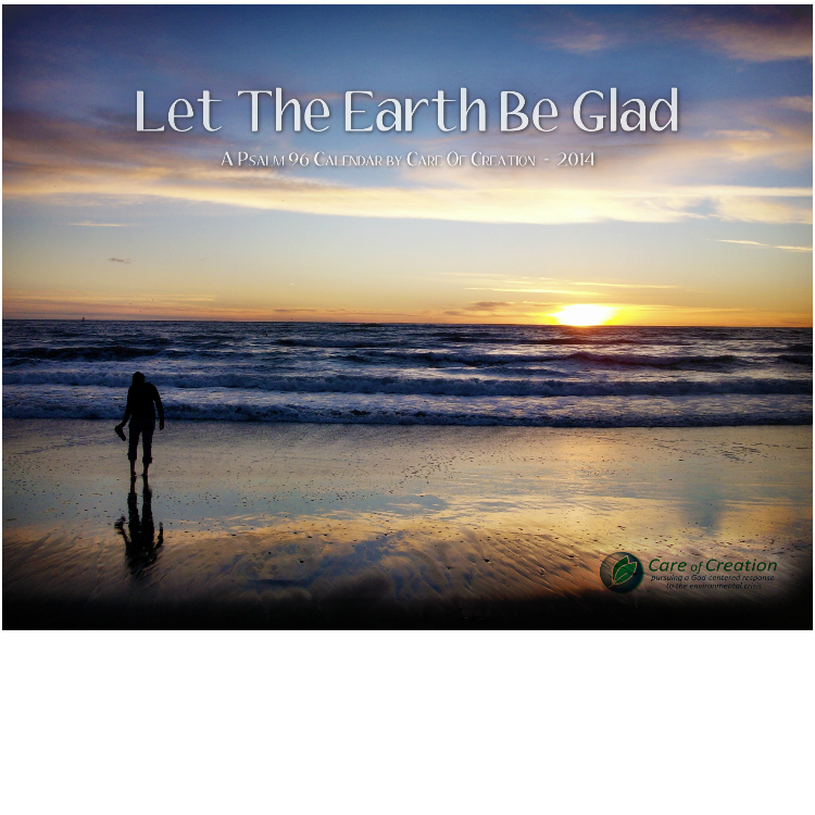 Let the Earth be Glad 2014 Calendar