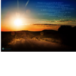 "Psalm 139 and Kudu Poster–12""x18"""